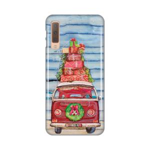 Maska Silikonska Print za Samsung A750F Galaxy A7 2018 Christmas Ride