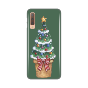 Maska Silikonska Print za Samsung A750F Galaxy A7 2018 Christmas Tree