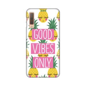 Maska Silikonska Print za Samsung A750F Galaxy A7 2018 Good Vibes Pines