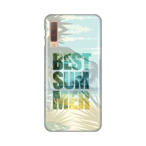 Maska Silikonska Print za Samsung A750F Galaxy A7 2018 The best summer