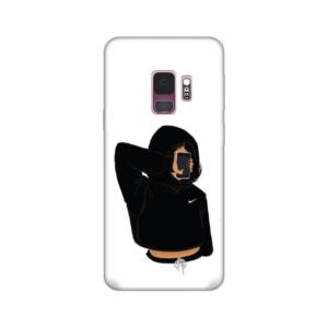Maska Silikonska Print za Samsung G960 S9 Pink Girl With Phone