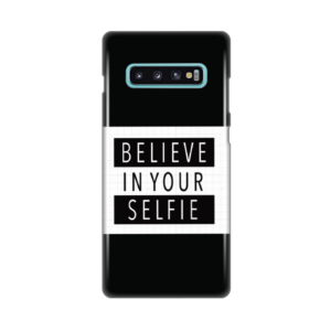 Maska Silikonska Print za Samsung G975 S10 Plus Believe in your selfie