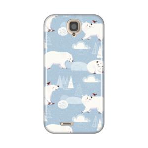 Maska silikonska Print za Tesla smartphone 3.1 Lite/3.2 Lite Arctic Bears
