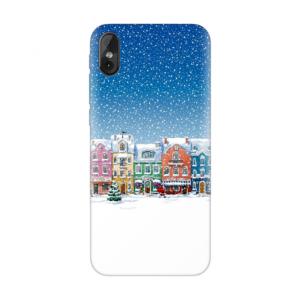 Maska Silikonska Print za Tesla smartphone 3.4 Christmas City
