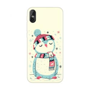 Maska Silikonska Print za Tesla smartphone 3.4 Christmas Owl