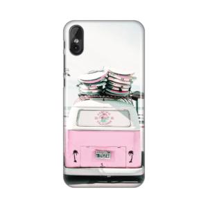 Maska Silikonska Print za Tesla smartphone 3.4 Pink Van