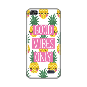 Maska silikonska Print za Tesla smartphone 6.2 Lite Good Vibes Pines