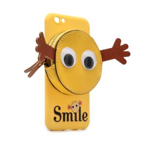 Maska Smile za iPhone 6/6S zuta
