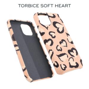 Maska Soft Heart za iPhone 6/6S roze