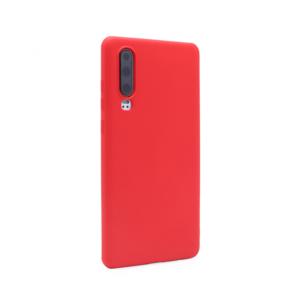 Maska Soft za Huawei P30 crvena