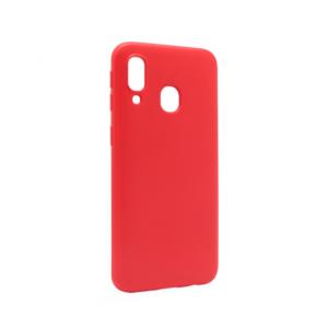 Maska Soft za Samsung A405F Galaxy A40 crvena
