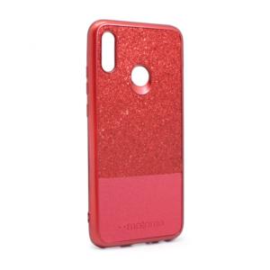 Maska Sparkle Half za Huawei Honor 10 lite/P smart 2019 crvena
