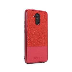 Maska Sparkle Half za Huawei Mate 20 Lite crvena