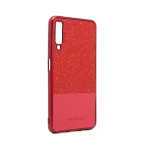 Maska Sparkle Half za Samsung A750FN Galaxy A7 2018 crvena