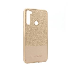 Maska Sparkle Half za Xiaomi Redmi Note 8 zlatna
