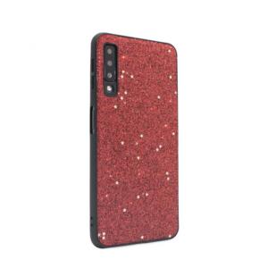 Maska Sparkle Shiny za Samsung A750F Galaxy A7 2018 crvena