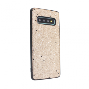 Maska Sparkle Shiny za Samsung G973 S10 zlatna