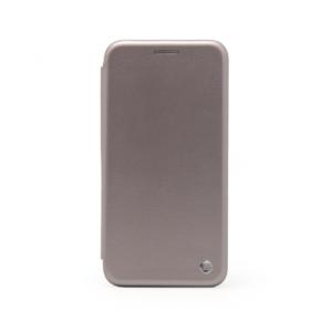 Maska Teracell Flip Cover za Huawei Y6 2018 srebrna