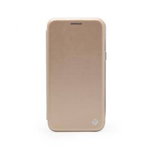 Maska Teracell Flip Cover za iPhone 5 zlatna