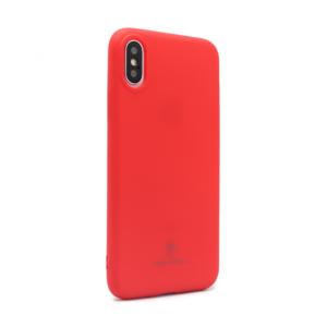 Maska Teracell Giulietta za iPhone X/XS mat crvena