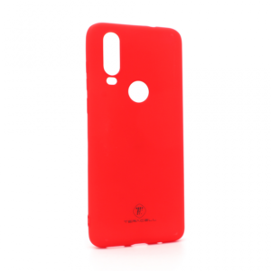 Maska Teracell Giulietta za Motorola One Action mat crvena