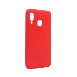 Maska Teracell Giulietta za Samsung A202F Galaxy A20e mat crvena