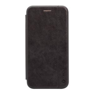 Maska Teracell Leather za Huawei P20 Lite crna