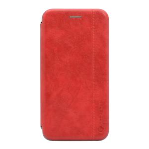 Maska Teracell Leather za Huawei Y6 2019/Honor 8A crvena