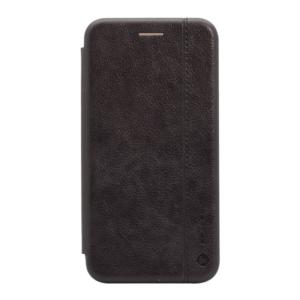 Maska Teracell Leather za Huawei Y7 2019/Y7 Prime 2019 crna