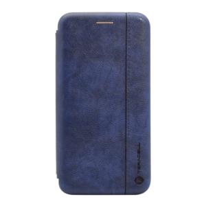 Maska Teracell Leather za Xiaomi Redmi 8A plava