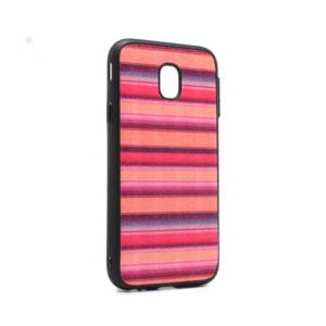 Maska Three stripes za Samsung J530F Galaxy J5 2017 (EU) narandzasta