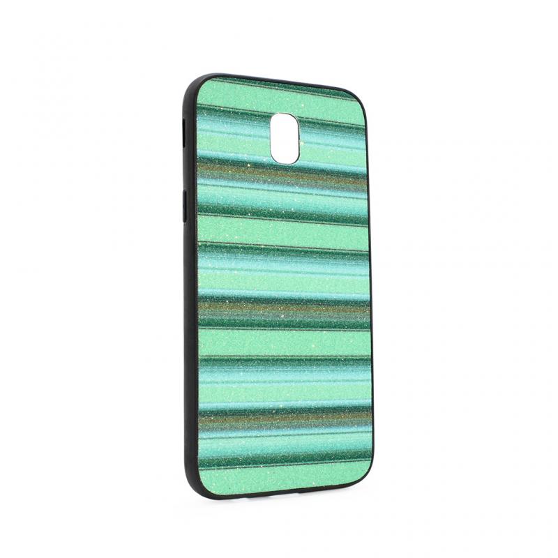 Maska Three stripes za Samsung J530F Galaxy J5 2017 (EU) zelena