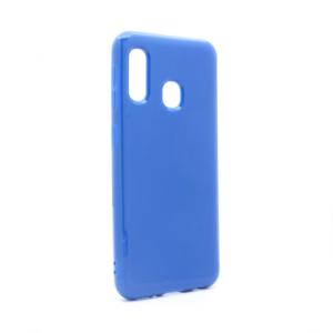 Maska Tropical za Samsung A202F Galaxy A20e tamno plava