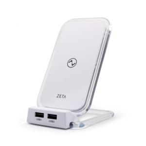 Wireless punjac ZETA ZW4 5V/1A beli