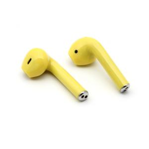 Bluetooth slusalice Airpods i12 TWS zute