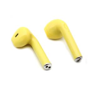 Bluetooth slusalice Airpods i9S TWS zute