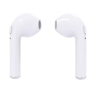 Bluetooth slusalice Airpods i7S TWS bele