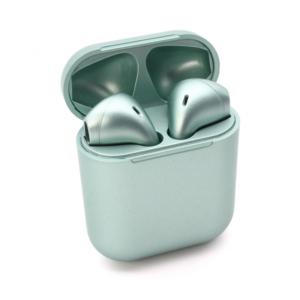 Bluetooth slusalice Inpods metalik svetlo zelene