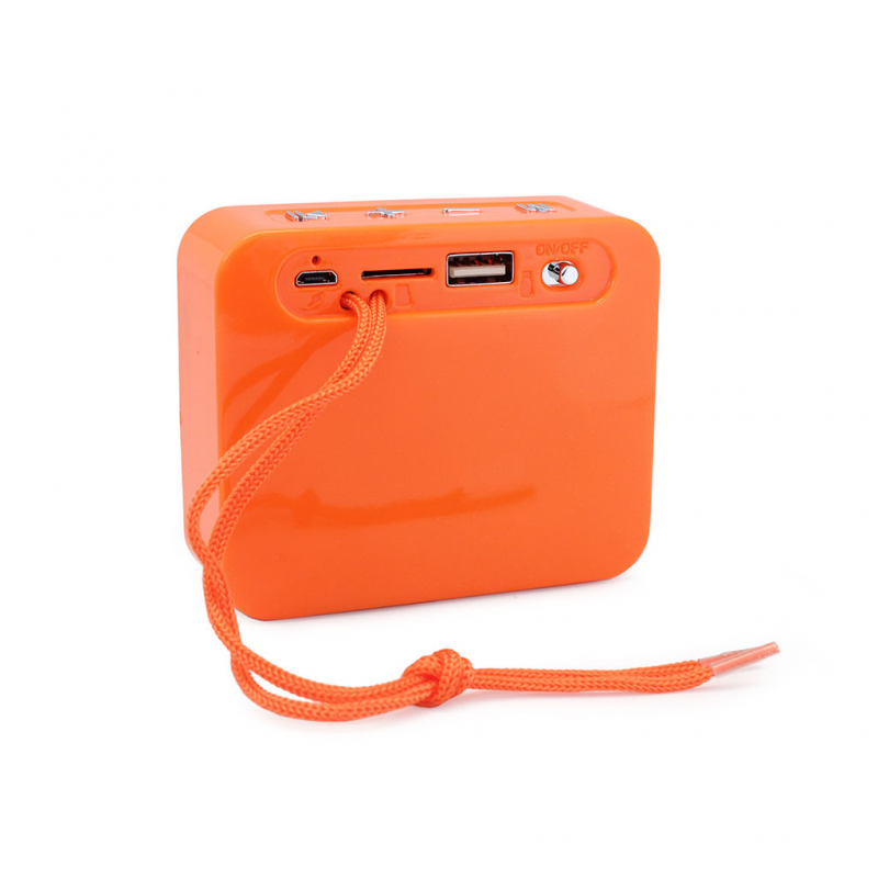 Bluetooth zvucnik TG166 narandzasti