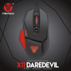 Mis Gaming Fantech X11 Daredevil crni