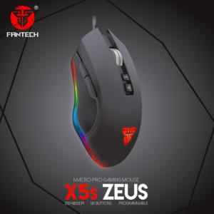 Mis Gaming Fantech X5S Zeus crni