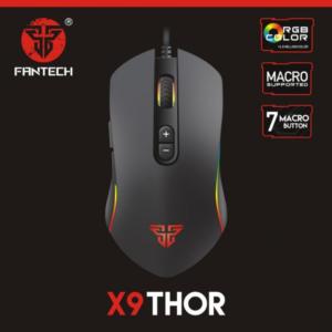 Mis Gaming Fantech X9 Thor crni