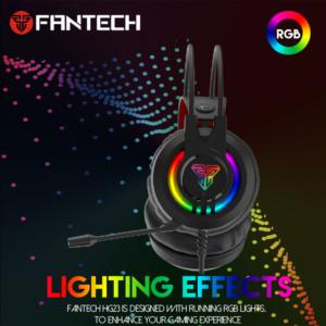 Slusalice Gaming Fantech HG20 Chief II crne