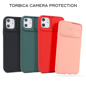 Maska Camera protection za iPhone XR crna