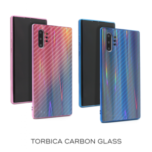Maska Carbon glass za Honor 20/Nova 5T plava