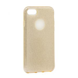 Maska Crystal Dust za iPhone 7/8 zlatna