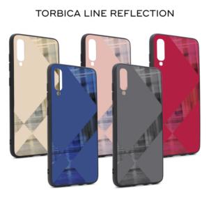 Maska Line reflection za Samsung A805F Galaxy A80 roze