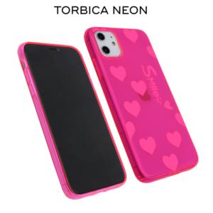 Maska Neon za iPhone 11 Pro Max 6.5 pink