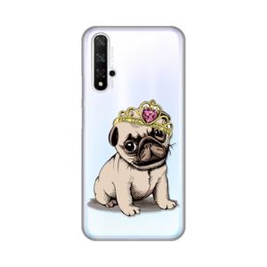 Maska Silikonska Print Skin za Huawei Honor 20/Nova 5T Dog King
