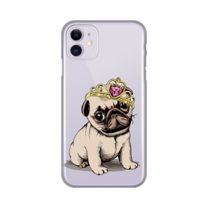 Maska Silikonska Print Skin za iPhone 11 6.1 Dog King
